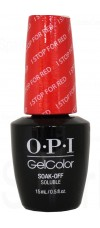I STOP for Red By OPI Gel Color