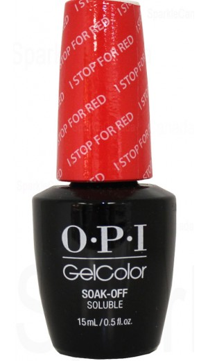 GCA74 I STOP for Red By OPI Gel Color