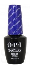 My Car Has Navy-gation By OPI Gel Color