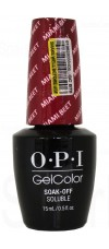 Miami Beet By OPI Gel Color
