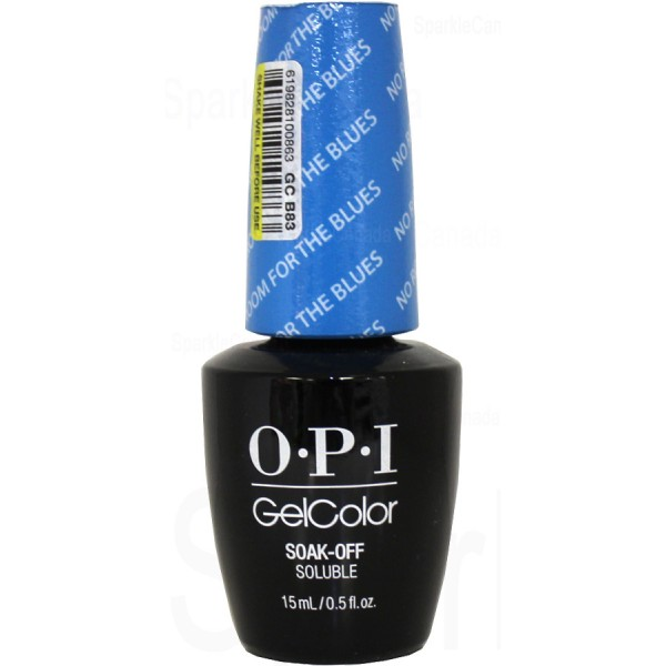 OPI Gel Color, No Room For The Blues By OPI Gel Color