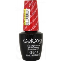 Coca Cola By OPI Gel Color