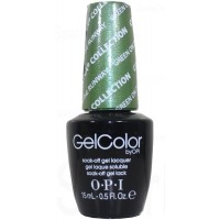 Green On The Runway By OPI Gel Color