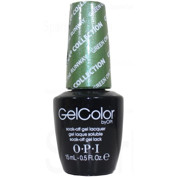 Gcc18 Green On The Runway By Opi Gel Color