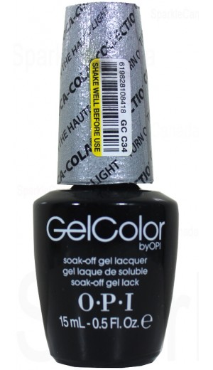 GCC34 Turn On The Haulte Light By OPI Gel Color