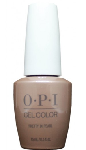 GCE95 Pretty In Pearl By OPI Gel Color
