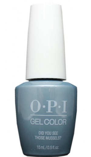 GCE98 Did You See Those Mussels By OPI Gel Color