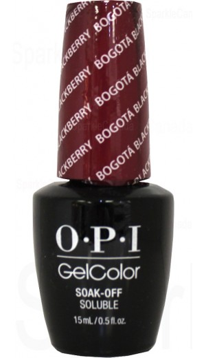 GCF52 Bogota Blackberry By OPI Gel Color