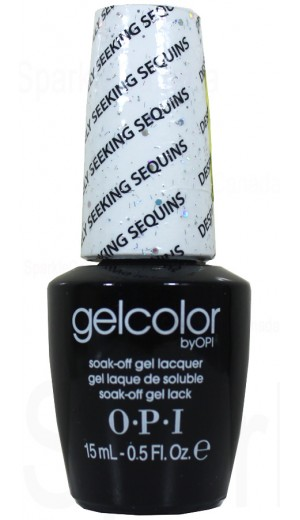 GCG07 Desperately Seeking Sequins By OPI Gel Color