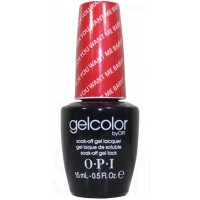 Deutsch You Want Me Baby? By OPI Gel Color