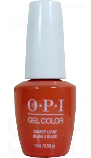 GCG43 Summer Lovin Having a Blast! By OPI Gel Color