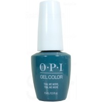 Teal Me More, Teal Me More By OPI Gel Color