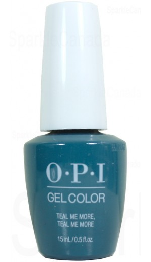 GCG45 Teal Me More, Teal Me More By OPI Gel Color