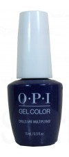 Chills Are Multiplying! By OPI Gel Color