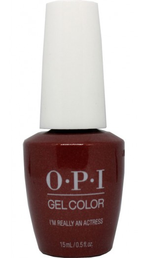 GCH010 I'm Really an Actress By OPI Gel Color