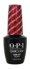 I'm Not Really A Waitress By OPI Gel Color