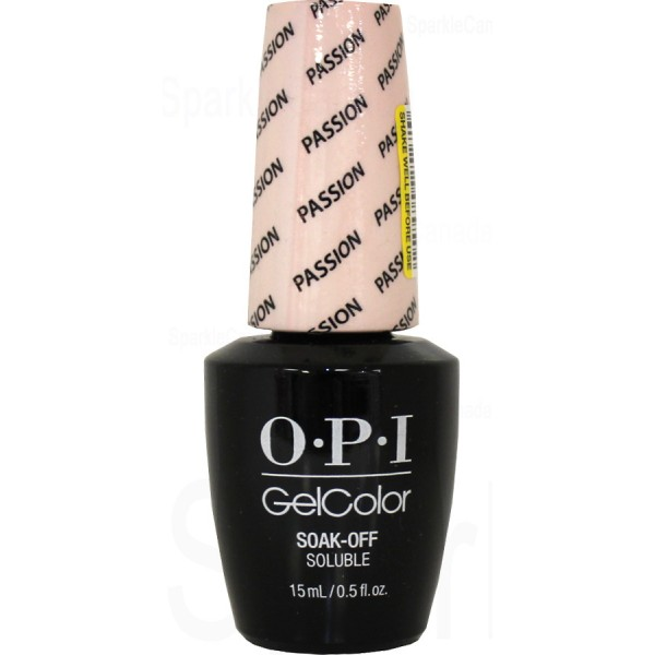 Opi Gel Color Passion By Opi Gel Color Gch19 Sparkle Canada One Nail Polish Place