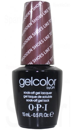 GCH64 Wooden Shoe Like To Know? By OPI Gel Color