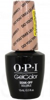 Do You Take Lei Away? By OPI Gel Color