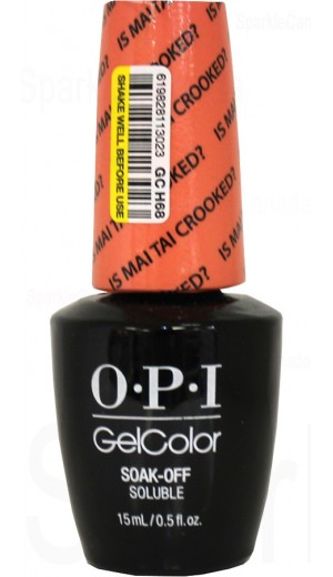 GCH68 Is Mai Tai Crooked? By OPI Gel Color