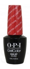 Go with the Lava Flow By OPI Gel Color