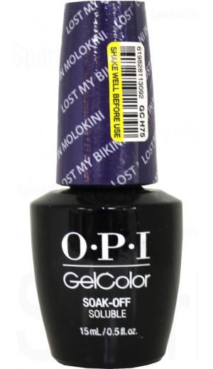 GCH75 Lost My Bikini In Molokini By OPI Gel Color