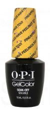 Pineapples Have Peelings Too! By OPI Gel Color