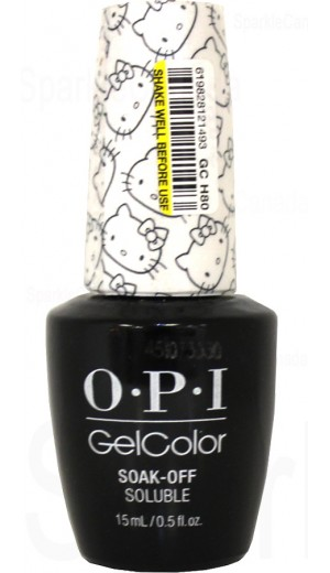 GCH80 Kitty White By OPI Gel Color