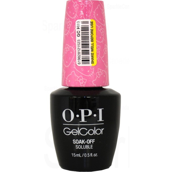 Anti Nail Biting Polish: OPI Gel Color, Look At My Bow! By OPI Gel Color, GCH83