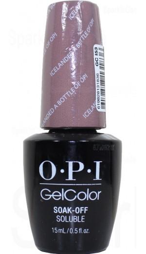 GCI53 Icelanded a Bottle of OPI By OPI Gel Color