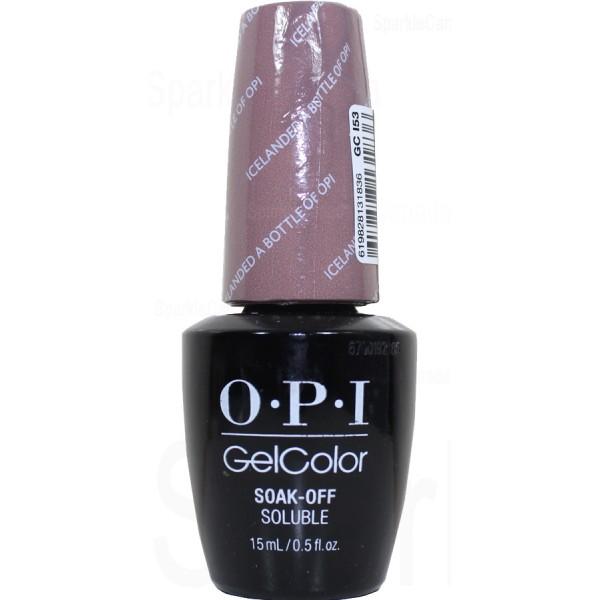 OPI Gel Color, Icelanded a Bottle of OPI By OPI Gel Color ...