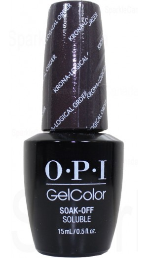 GCI55 Krona-Logical Order By OPI Gel Color