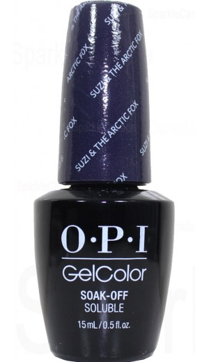 GCI56 Suzi and Arctic Fox By OPI Gel Color