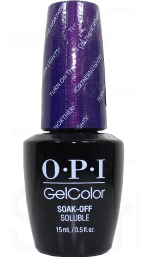 GCI57 Turn On The Northern Lights! By OPI Gel Color
