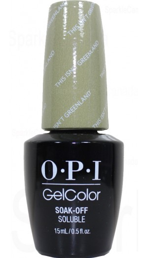 GCI58 This Isnt Greenland By OPI Gel Color
