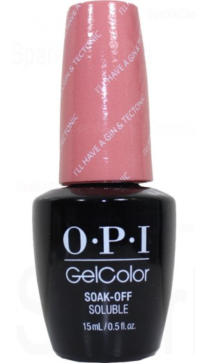 GCI61 I ll Have a Gin and Tectonic By OPI Gel Color