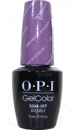 GCI62 One Heckla of a Color! By OPI Gel Color