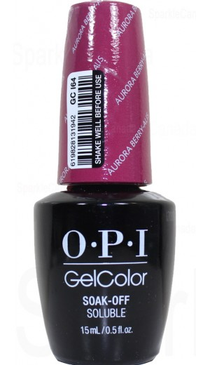 GCI64 Aurora Berry-alis By OPI Gel Color