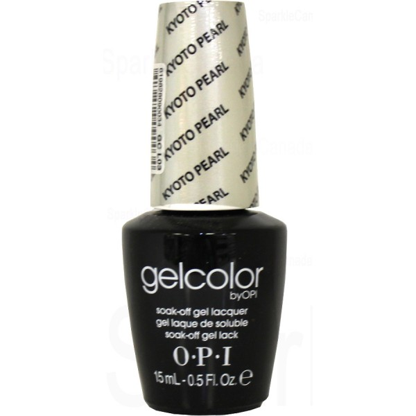 Anti Nail Biting Polish: OPI Gel Color, Kyoto Pearl By OPI Gel Color, GCL03