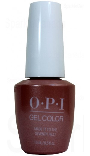 GCL15 Made It To The Saventh Hill By OPI Gel Color