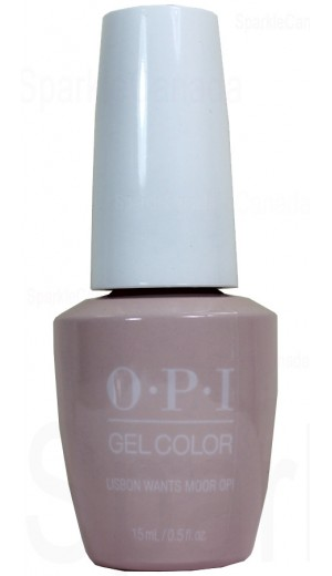 GCL16 Lisbon Wants Moor OPI By OPI Gel Color