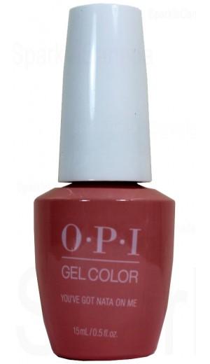 GCL17 You ve Got Nata On Me By OPI Gel Color