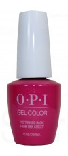 No Turning Back From Pink Street By OPI Gel Color