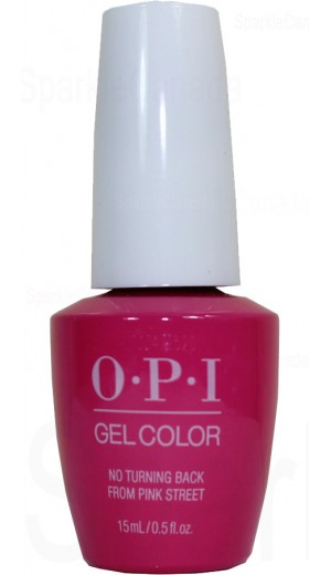 GCL19 No Turning Back From Pink Street By OPI Gel Color