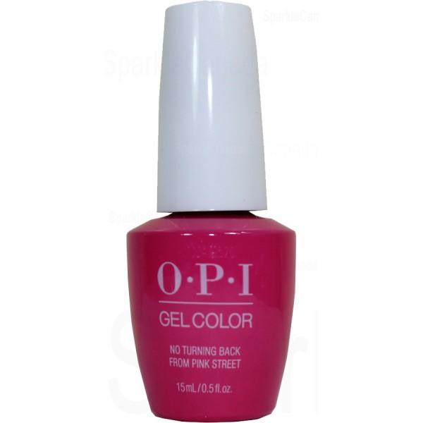 OPI Gel Color, No Turning Back From Pink Street By OPI Gel