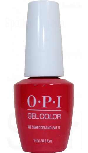 GCL20 We Seafood and Eat It By OPI Gel Color
