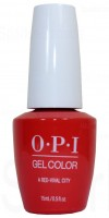 A Red-vival City By OPI Gel Color