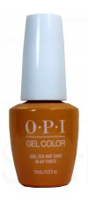 Sun, Sea and Sand in My Pants By OPI Gel Color