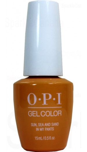 GCL23 Sun, Sea and Sand in My Pants By OPI Gel Color