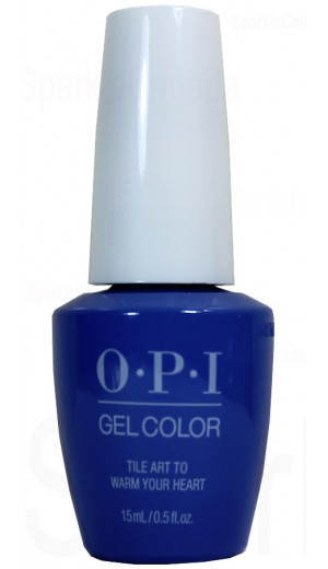 GCL25 Tile Art To Warm Your Heart By OPI Gel Color